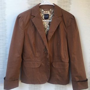 Gap brown blazer Size 6
